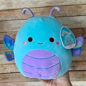 Squishmallow Heather The Dragon Fly Blue NEW